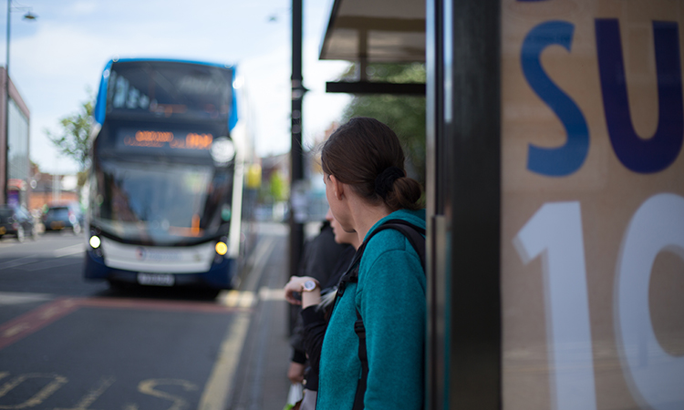 Bus waiting times could be reduced