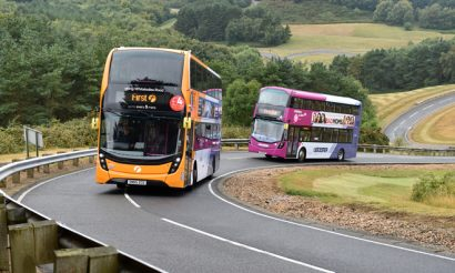 FirstBus spearheads testing of latest bus technology