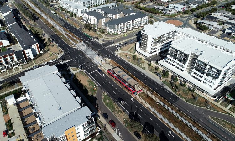 Canberra metro