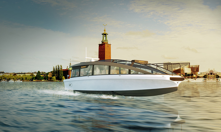 "Stockholm's 30 mph electric ferry ""a whole new take on public transport"""