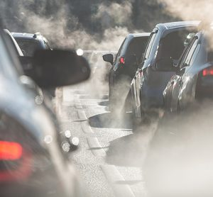 provate car use is a big source of pollution