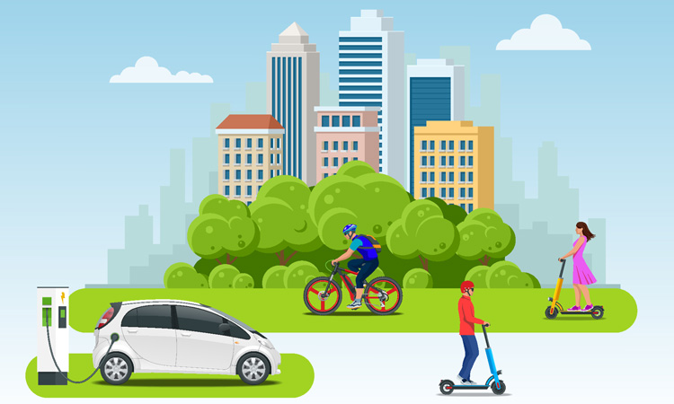 Study explores potential sustainability scenarios for future mobility services