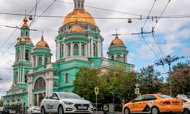 What's going on with Russian ride-hailing and how was it affected by COVID-19?