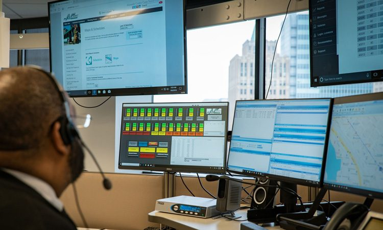 CleverCAD multimodal fleet management: better insight, better service
