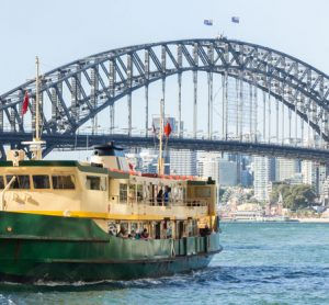 Australia's contactless ticketing spreads to Sydney's ferry network