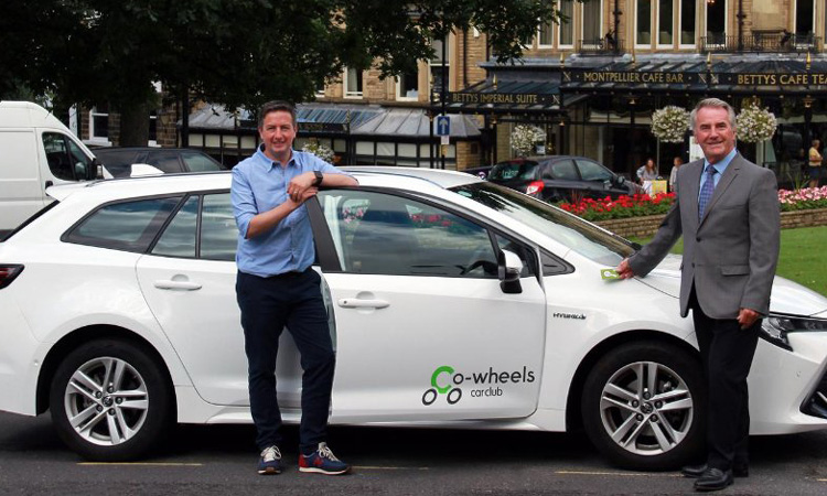 All-hybrid car share club launched in Harrogate