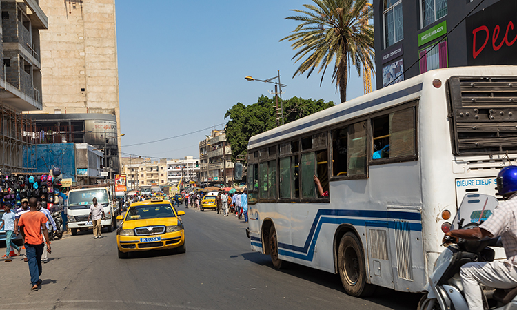 Dakar is undergoing a BRT project
