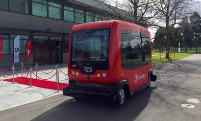 Alstom invests in electric driverless shuttle company EasyMile