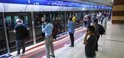 dubai metro can get busy at peak times