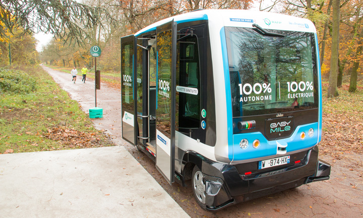 By accepting partnership with IVECO and other companies EasyMile begin developments on the technology for a full-size autonomous bus
