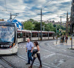 Edinburgh tram network