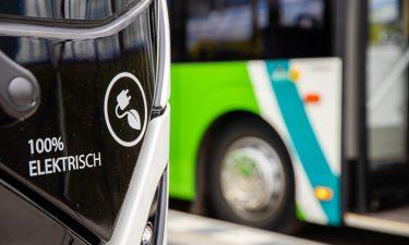 electric arriva bus