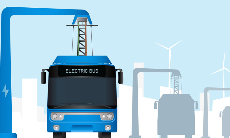 Local authorities can now apply to become UK's first all-electric bus town