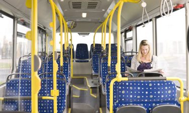 Less people are using public transport with more mobility services available