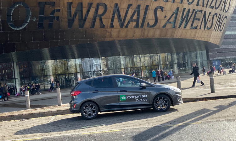 Cardiff expands Enterprise Car Club to promote sustainable, active travel