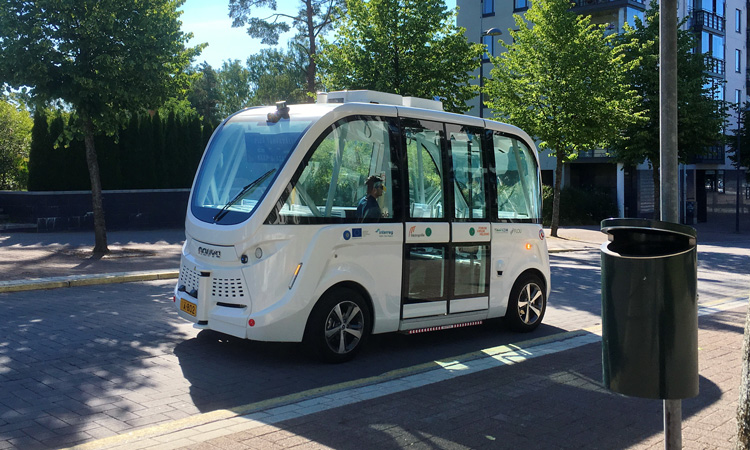 Autonomous on-demand buses to be tested in five European cities