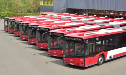 Eight new articulated Solaris buses for Nurnberg