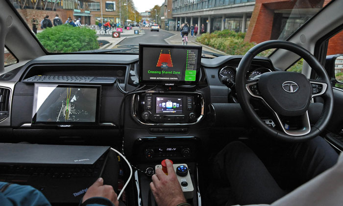 30 million of funding is available for autonomous developments in the UK