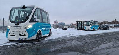 Autonomous electric shuttles in the city of Gothenburg