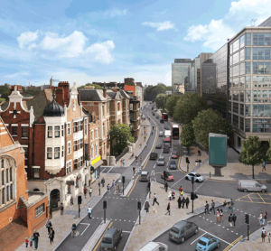London's Cycle Superhighway 9 receives community support