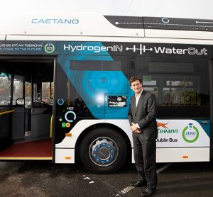 Ireland launches first hydrogen bus