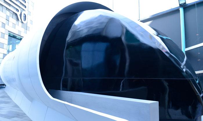 Dubai's RTA Unveils Prototype of Hyperloop One