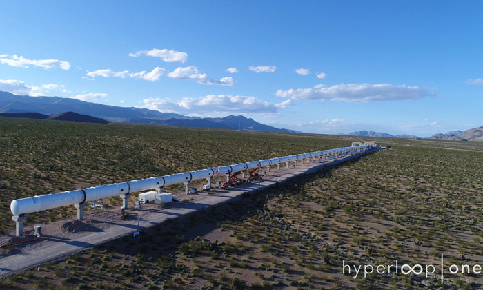 'Hyperloop' transport system signs deal to identify routes in India