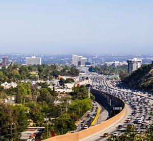 I-405 freeway Los Angeles