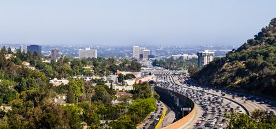 I-405 freeway Los Angeles