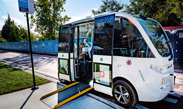 Jacksonville autonomous vehicle project expanded