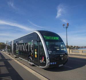 keolis e-BRT line basque country
