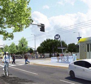 LA metro's east san fernando valley light rail project