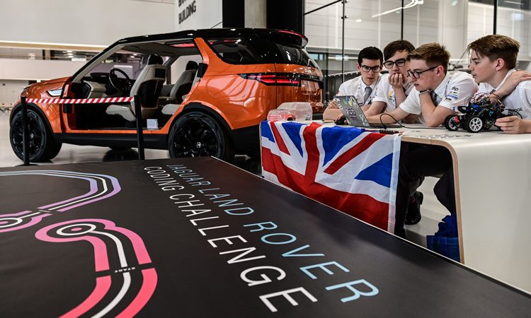 Land Rover launches challenge for schools to address digital skills shortage