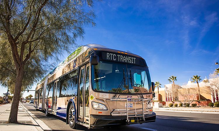 Las Vegas RTC bus