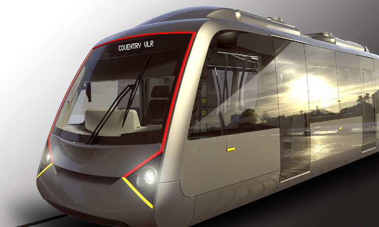 Battery-powered, lightweight, rail-based vehicle planned for Coventry