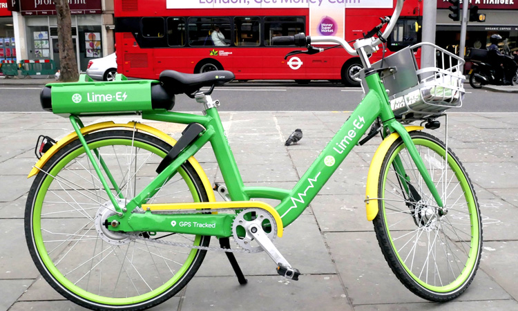 Lime bike London