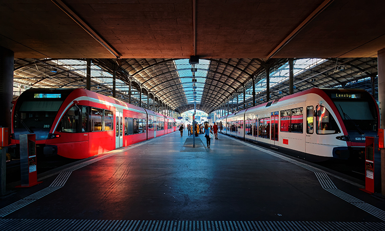 lucerne central in switzerland