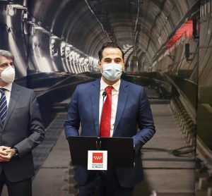 Ignacio Aguado presents line 11 of the madrid metro