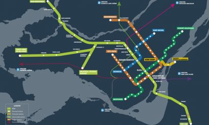 Canada's Prime Minister announces investment in light rail network