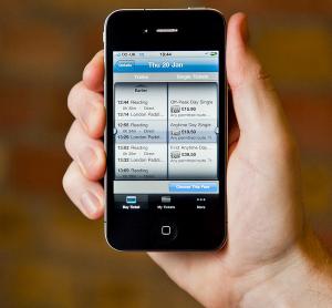 Masabi smart phone app