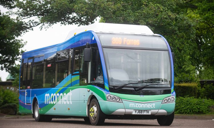 Scotland launches first rural green bus route in Moray