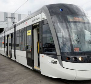 The first view of Toronto's Crosstown's light rail vehicles