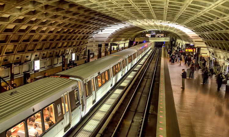 Washington Metrorail records increase in 2019 ridership