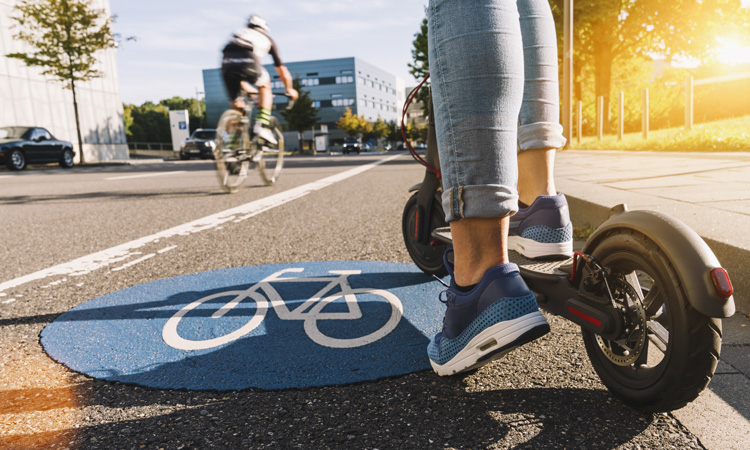 ITF report outlines recommendations for safety of micromobility services