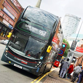 Commercial mobility as a service in the West Midlands case study