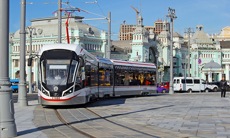 moscow's tram network
