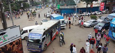 Nairobi during rush hour