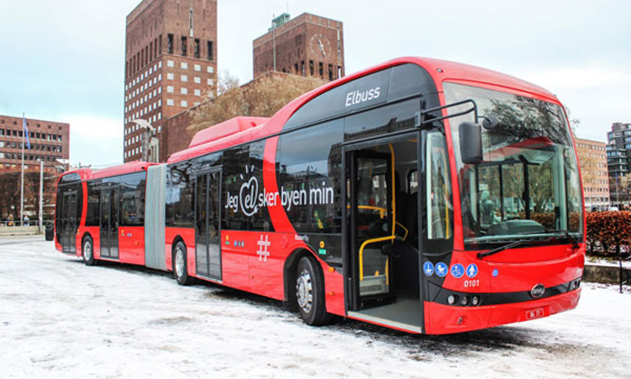 BYD articulated e-buses make European debut on Norway's busiest routes
