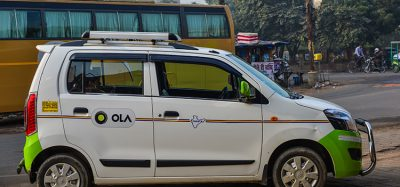 Ola vehicle in Agra, india
