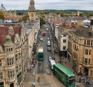 Oxford publishes plans for UK's first city centre Zero Emission Zone